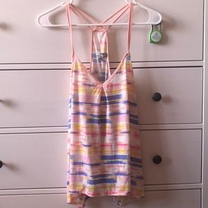 American Eagle Strappy Colorful Top
